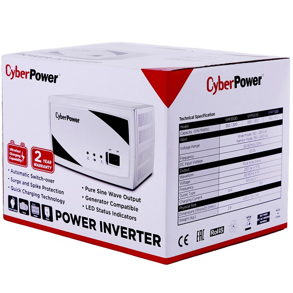 ИБП CyberPower SMP 750 EI (750ВА / 375Вт) - купить в Москве по цене производителя