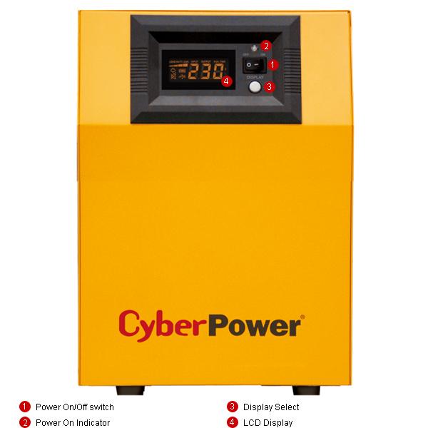 Инвертор CPS 1000 E - Резервный источник питания 220в (ИБП 1000 ВА/ 700 Вт) - купить в Москве по цене производителя