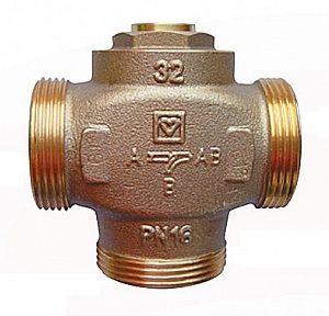 Трехходовой термосмесительный клапан ГЕРЦ TEPLOMIX (32) открытый - купить в Москве по цене производителя