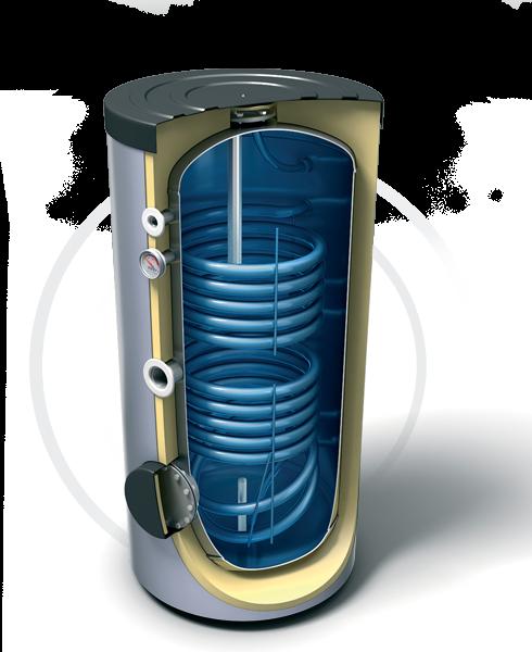 Водонагреватели косвенного нагрева с двумя теплообменниками (эл. Тэн опционально). Продукция компании TESY - купить в Москве по цене производителя