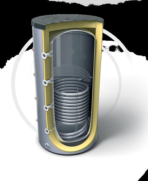 Буферные емкости для систем отопления с теплообмеником (эл. Тэн опционально). Продукция компании TESY - купить в Москве по цене производителя