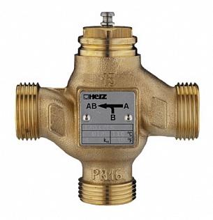 Регулирующий трехходовой клапан ГЕРЦ (40 / 25 Kvs, м3/ч) - купить в Москве по цене производителя