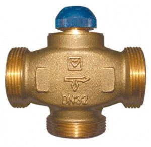 Трехходовый термостатический клапан ГЕРЦ CALIS-TS-RD (20) - купить в Москве по цене производителя