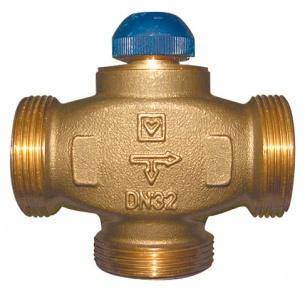 Трехходовый термостатический клапан ГЕРЦ CALIS-TS-RD (32) - купить в Москве по цене производителя