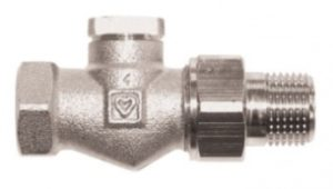 Клапан ГЕРЦ-RL-1, проходной (3/8 - 1,5 Kvs, м3/ч) - купить в Москве по цене производителя