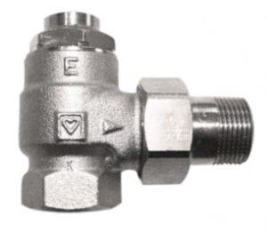 Клапан ГЕРЦ-RL-1-E, угловой (1 - 10,5 Kvs, м3/ч) - купить в Москве по цене производителя