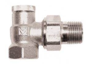 Клапан ГЕРЦ-RL-1, угловой (3/8 - 2,15 Kvs, м3/ч) - купить в Москве по цене производителя