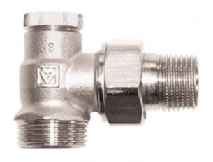 Клапан ГЕРЦ-RL-1, угловой (1/2 - 2,6 Kvs, м3/ч) - купить в Москве по цене производителя