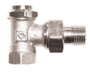 Клапан ГЕРЦ-RL-5, угловой (3/8 - 0,05-1,9 Kvs, м3/ч) - купить в Москве по цене производителя