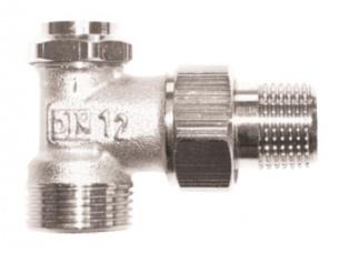Клапан ГЕРЦ-RL-5, угловой (1/2- 0,05-1,9 Kvs, м3/ч) - купить в Москве по цене производителя
