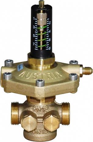 ГЕРЦ регулятор перепада давления 4002 (20 - 4,36 Kvs, м3/ч) - купить в Москве по цене производителя