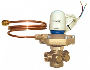 ГЕРЦ регулятор перепада давления 4002 FIX TS (15 - 2,66 Kvs, м3/ч) - купить в Москве по цене производителя