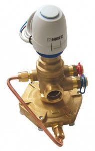KOMBI-клапан - регулятор расхода ГЕРЦ модель 4006 M (15 - 0,97 Kvs, м3/ч) - купить в Москве по цене производителя