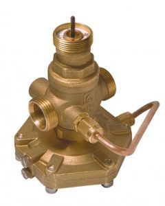 KOMBI-клапан регулятор расхода ГЕРЦ, модель 4006 R (50 - 9,17 Kvs, м3/ч) - купить в Москве по цене производителя