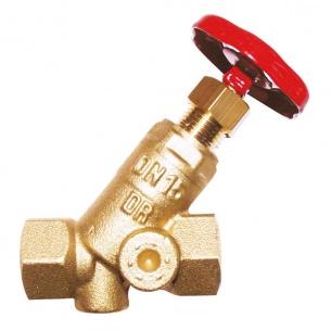 Клапан запорный ГЕРЦ ШТРЕМАКС, с наклонным шпинделем (65 - 112,0 Kvs, м3/ч) - купить в Москве по цене производителя
