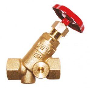 Клапан запорный ГЕРЦ ШТРЕМАКС-A, с наклонным шпинделем (40 - 44,0 Kvs, м3/ч) - купить в Москве по цене производителя