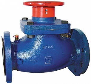 Клапан балансировочный ГЕРЦ ШТРЕМАКС-GF (125 - 255,79 Kvs, м3/ч) - купить в Москве по цене производителя