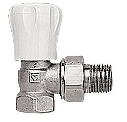 Клапан запорно-регулирующий ГЕРЦ-GP угловой (3/4 - 0,09-1,8 Kvs, м3/ч) - купить в Москве по цене производителя