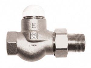 Термостатический клапан ГЕРЦ-TS-E проходной (1 - 1,5 Kv2, м3/ч) - купить в Москве по цене производителя
