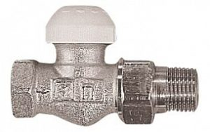 Термостатический клапан ГЕРЦ-TS-90 проходной (3/8 - 0,4 Kv2, м3/ч) - купить в Москве по цене производителя