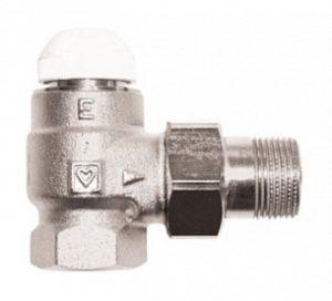 Термостатический клапан ГЕРЦ-TS-E угловой (1 - 1,5 Kv2, м3/ч) - купить в Москве по цене производителя