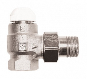 Термостатический клапан ГЕРЦ-TS-E угловой (3/4 - 1,5 Kv2, м3/ч) - купить в Москве по цене производителя