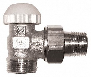 Термостатический клапан ГЕРЦ-TS-90, угловая форма (1/2 - 0,6 Kv2, м3/ч) - купить в Москве по цене производителя