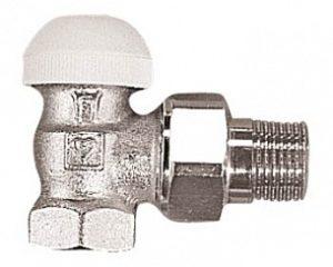 Термостатический клапан ГЕРЦ-TS-90 угловой (1/2 - 0,6 Kv2, м3/ч) - купить в Москве по цене производителя