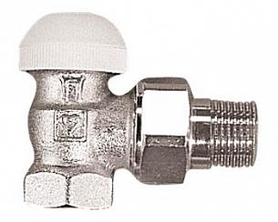 Термостатический клапан ГЕРЦ-TS-90 угловой (3/4 - 0,7 Kv2, м3/ч) - купить в Москве по цене производителя
