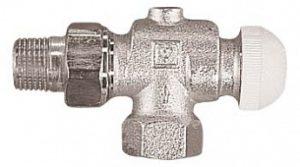 Термостатический клапан ГЕРЦ-TS-90 угловой специальный (1/2 - 0,6 Kv2, м3/ч) - купить в Москве по цене производителя