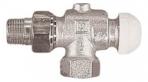 Термостатический клапан ГЕРЦ-TS-90 угловой специальный (3/8 - 0,4 Kv2, м3/ч) - купить в Москве по цене производителя