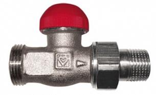Термостатический клапан ГЕРЦ-TS-90-V проходной (1/2 - 0,03–0,55 Kv2, м3/ч) - купить в Москве по цене производителя