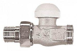 Термостатический клапан ГЕРЦ-TS-90, проходной клапан (1/2 - 0,6 Kv2, м3/ч) - купить в Москве по цене производителя