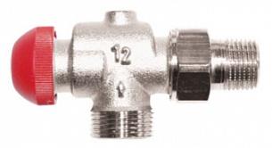 Термостатический клапан ГЕРЦ-TS-90-V угловой специальный (1/2 - 0,03–0,55 Kv2, м3/ч) - купить в Москве по цене производителя