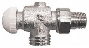 Термостатический клапан ГЕРЦ-TS-90, угловой специальный (1/2 - 0,6 Kv2, м3/ч) - купить в Москве по цене производителя