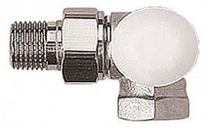 """Термостатический клапан ГЕРЦ-TS-90, трехосевой клапан """"CD"""" (3/8 - 0,4 Kv2, м3/ч) - купить в Москве по цене производителя"""