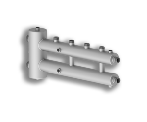 Гидрострелка Север-R-M2+1 (сталь нерж.) - купить в Москве по цене производителя