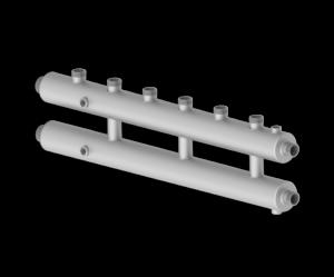Коллектор Север-R-КМ4 (сталь нерж.) - купить в Москве по цене производителя