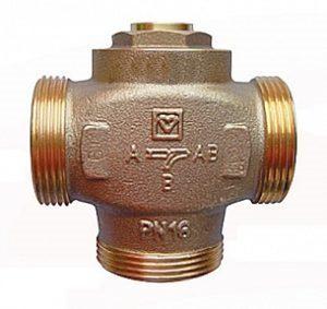 Трехходовой термосмесительный клапан ГЕРЦ TEPLOMIX (25) - купить в Москве по цене производителя