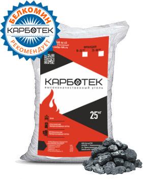 Каменный уголь в мешках КарбоТЕК 25/50мм - купить в Москве по цене производителя
