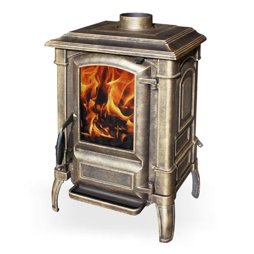 Fireway Bruno патина чугунная печь - купить в Москве по цене производителя