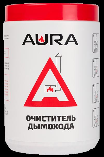 Средство для чистки дымохода AURA 1kg - купить в Москве по цене производителя