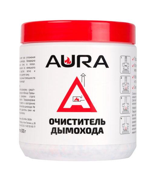 Средство для чистки дымохода AURA 0.5kg - купить в Москве по цене производителя